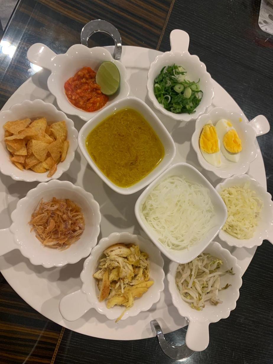 Javanese Soto Ayam ( Indonesian chicken Noodlesoup)